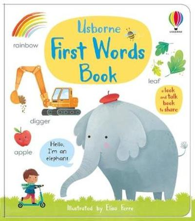First Words Book - Mary Cartwright