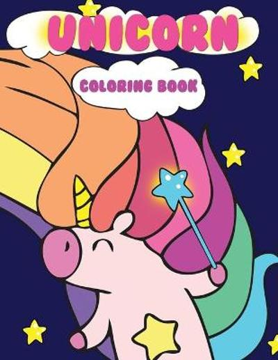 Unicorn Coloring Book - Dollhouse Publications