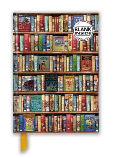 Bodleian Libraries: Hobbies & Pastimes Bookshelves (Foiled Blank Journal) - Flame Tree Studio