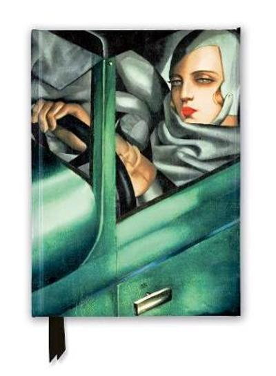 Tamara de Lempicka: Tamara in the Green Bugatti, 1929 (Foiled Journal) - Flame Tree Studio