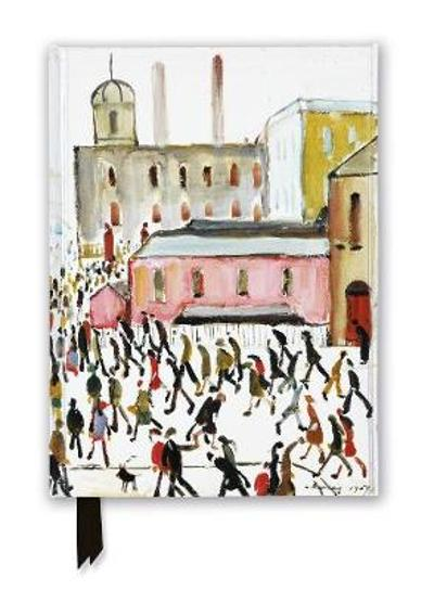 L.S. Lowry: Going to Work, 1959 (Foiled Journal) - Flame Tree Studio