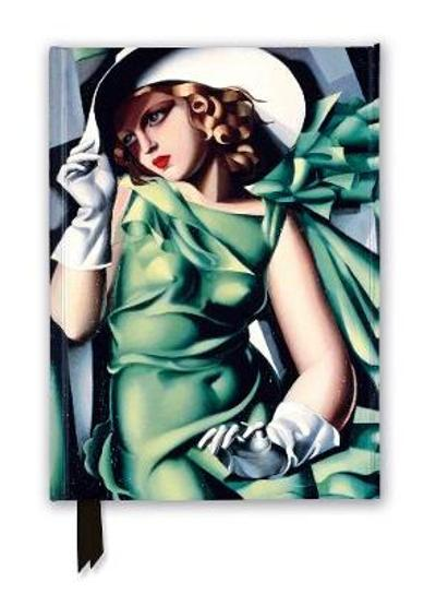 Tamara de Lempicka: Young Lady with Gloves, 1930 (Foiled Journal) - Flame Tree Studio