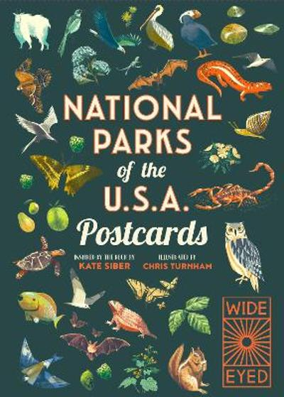 National Parks of the USA Postcards - Kate Siber