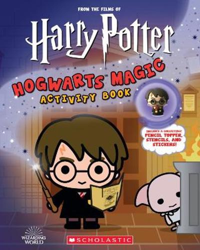 Harry Potter: Hogwarts Magic! Book with Pencil Topper - Terrance Crawford