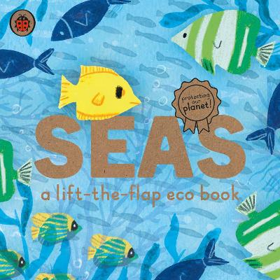 Seas: A lift-the-flap eco book - Carmen Saldana