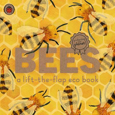 Bees: A lift-the-flap eco book - Carmen Saldana