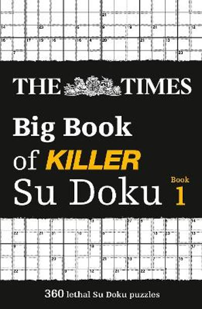 The Times Big Book of Killer Su Doku - The Times Mind Games