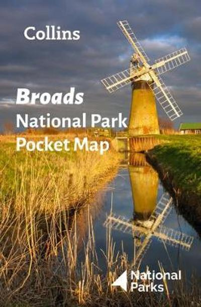 Broads National Park Pocket Map - National Parks UK