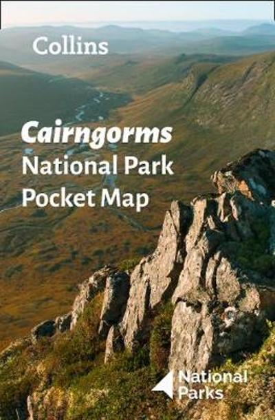 Cairngorms National Park Pocket Map - National Parks UK