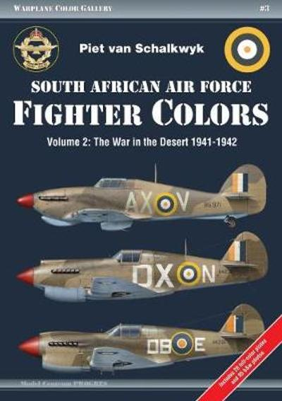 South African Air Force Fighter Colors - van Schalkwyk Piet