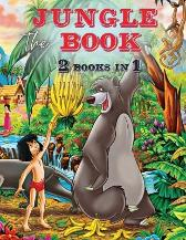 The Jungle Book - 2 Books in 1 - Coloring Book - Liudmila Coloring Books