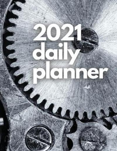 Large 2021 Daily Planner, Pure Metal Edition - Gyduschell Junior