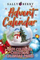 Advent Calendar Coloring Book - Sally Berry