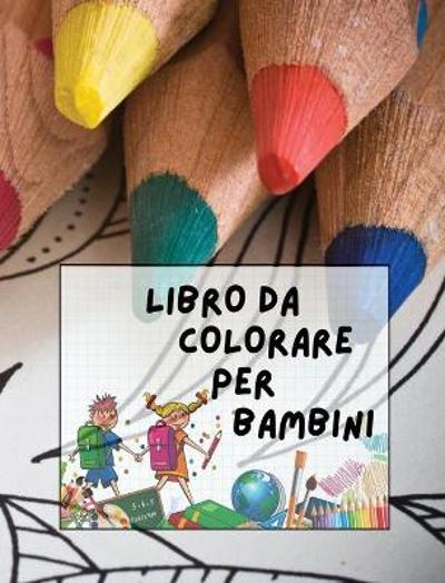 Libro Da Colorare Per Bambini - Walt Pages