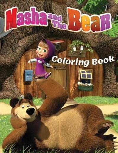 MASHA AND THE BEAR Coloring Book - Summer Coloring Books