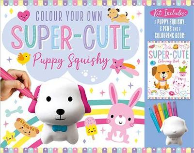 Colour Your Own Super-Cute Puppy Squishy - Make Believe Ideas