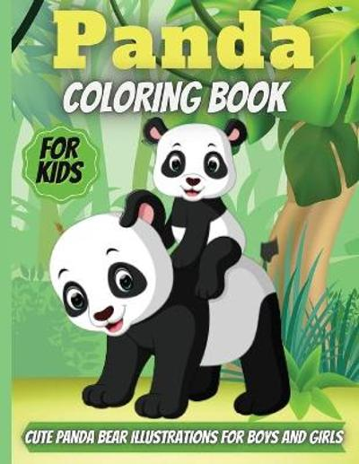 Panda Coloring Book For Kids - Elena Sharp