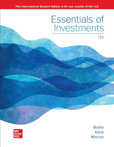 ISE eBook Online Access for Essentials of Investments - BLOCHER