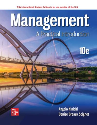 ISE eBook Online Access for Management - KINICKI