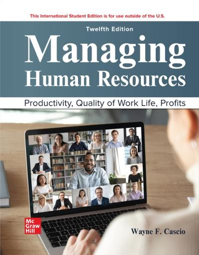 ISE eBook Online Access for Managing Human Resources - CASCIO