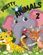 Pretty Animals 2 Coloring Book - Liudmila Coloring Books