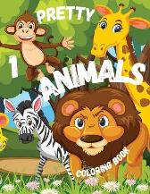 Pretty Animals 1 Coloring Book - Liudmila Coloring Books