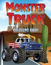 Monster Truck Coloring Book - Liudmila Coloring Books