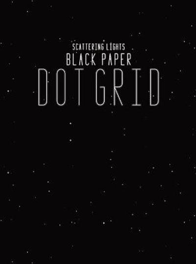 Black Paper Dot Grid - Scattering Lights Prints