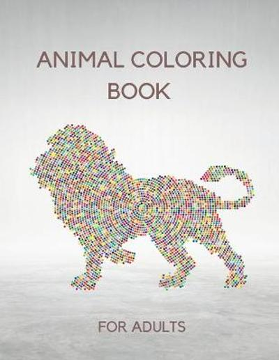 Animal Coloring Book for Adults - Hector England