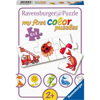 Puslespill 6 x 4 Deler All Of My Colors - Ravensburger