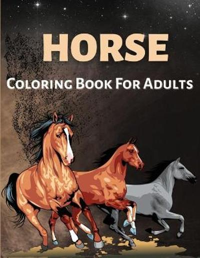 Horse Coloring Book For Adults - Andrea Jensen