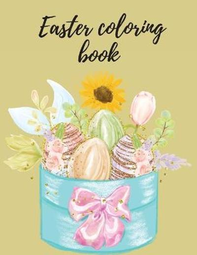 Easter coloring book - Cristie Jameslake