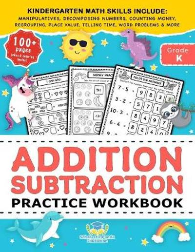 Addition Subtraction Practice Workbook - Scholastic Panda Education