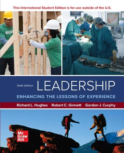 ISE eBook for Leadership: Enhancing the Lessons of Experience - HUGHES