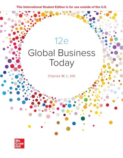 ISE EBook Online Access for Global Business Today - HILL