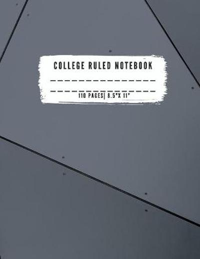College Ruled Notebook - A Appleton