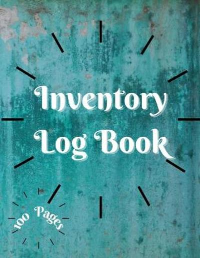 Inventory Log Book - Millie Zoes
