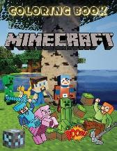 MINECRAFT Coloring Book - Jada Coloring Books