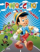 PINOCCHIO Libro da Colorare - Jada Coloring Books