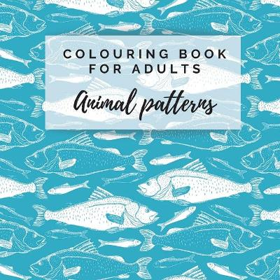 Colouring Book For Adults. Animal Patterns - Emerald Dreams