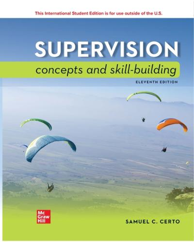 ISE eBook for Supervision: Concepts and Skill-Building - CERTO