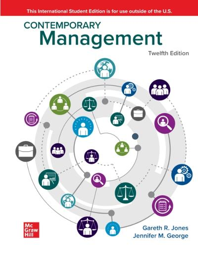 ISE eBook Online Access for Contemporary Management - JONES