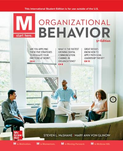 ISE eBook Online Access for M: Organizational Behavior - MCSHANE