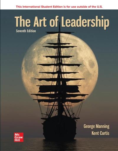 ISE eBook Online Access for The Art of Leadership - MANNING