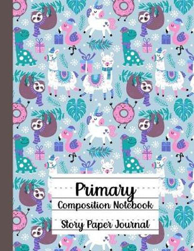 Primary Composition Notebook, Story Paper Journal - Bella Kindflower