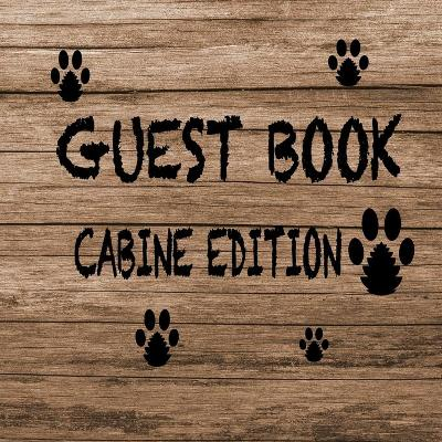 Guest Book Cabine Edition - Alexander Blank Books