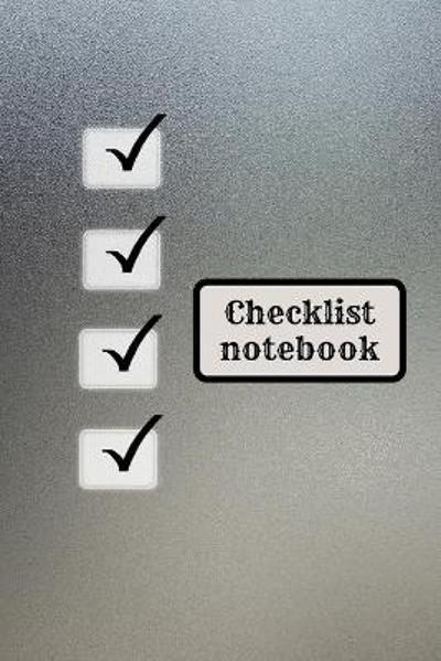 Checklist logbook for teens and adults - Addison Greer