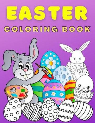Easter Coloring Book For Kids Ages 4-8 - Books For You to Smile