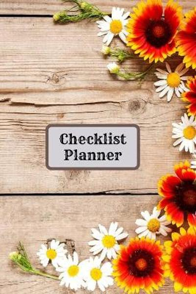 Checklist Planner for teens and adults - Addison Greer