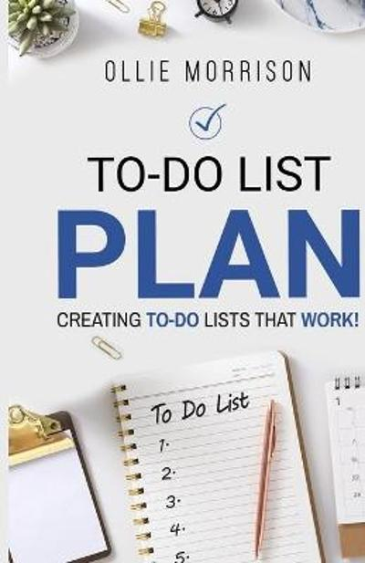 To-Do List Plan - Ollie Morrison
